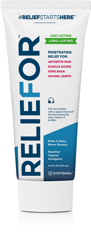 Reliefor Topical Pain Relief