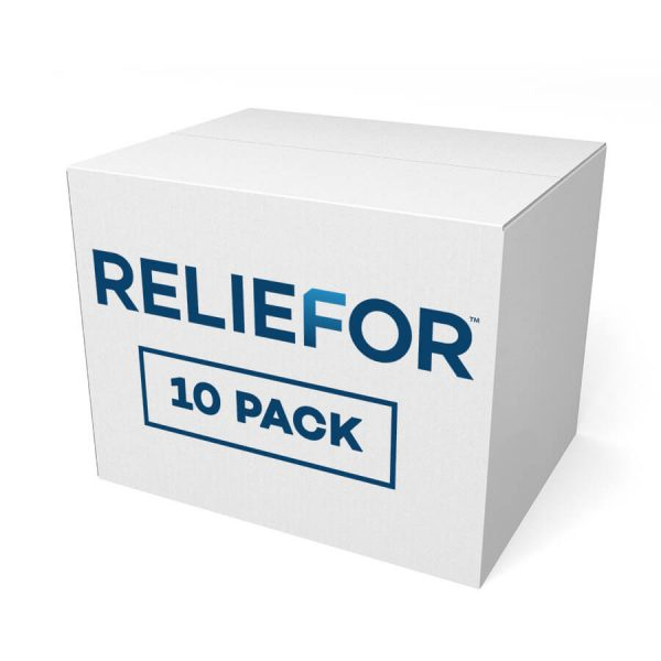 Reliefor Topical Pain Relief 10 Pack